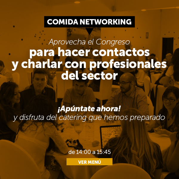 Comida NetWorking de Marketing Digital y Comercio Electrónico.